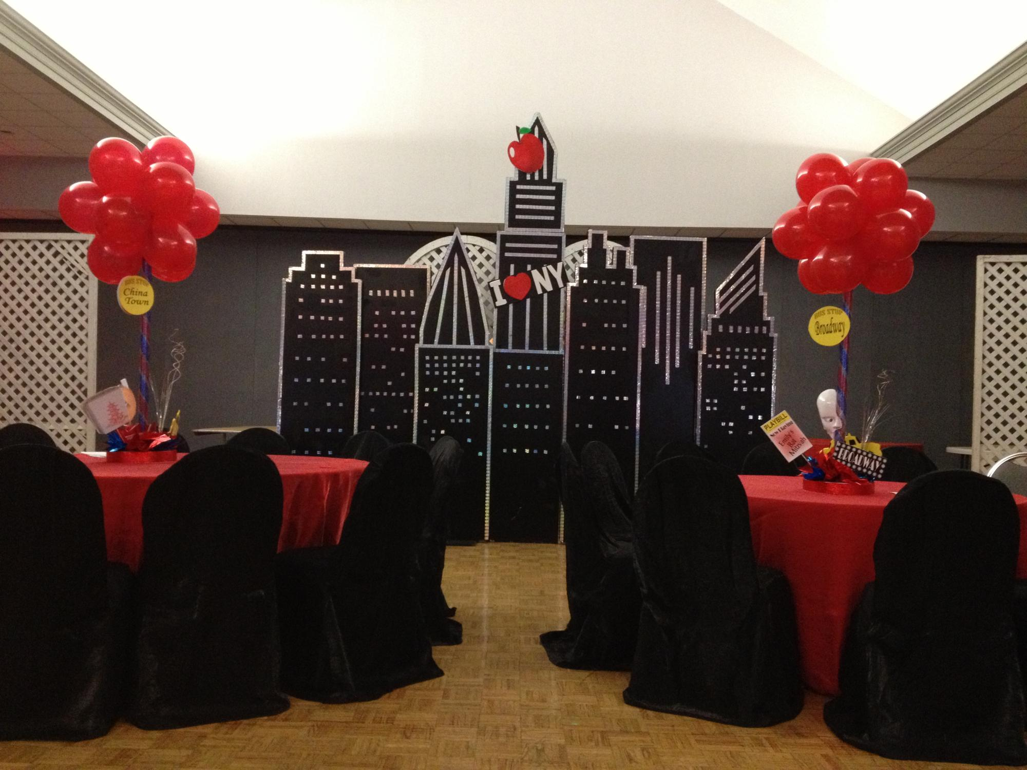 New York theme party