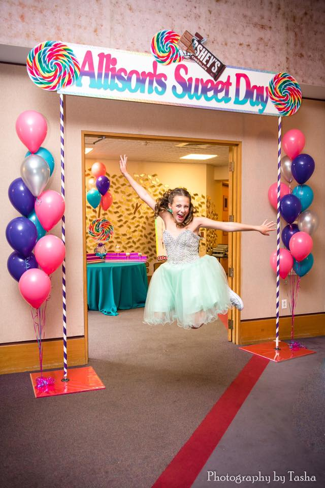 Candy Theme Bat Mitzvah