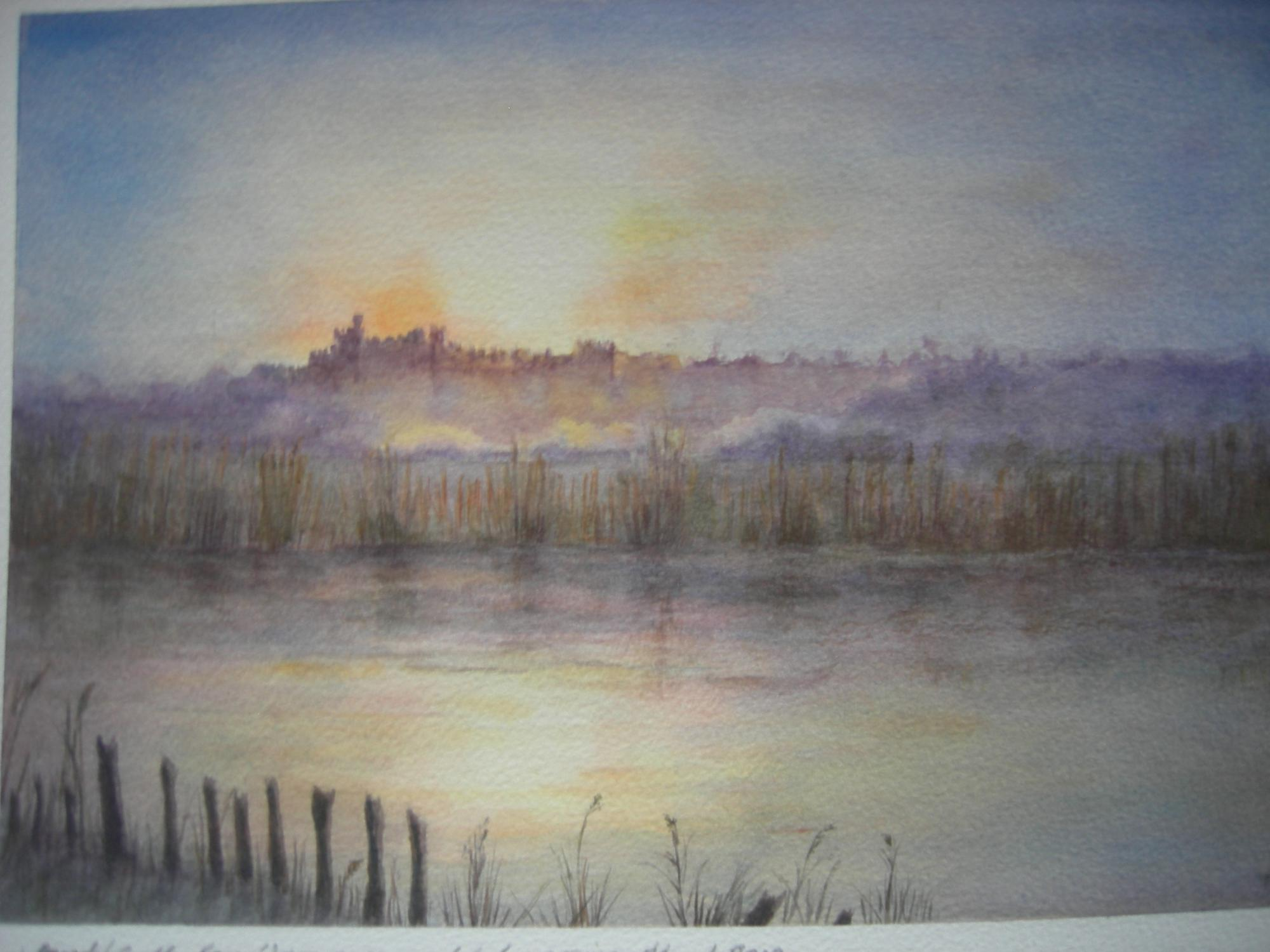 """ARUNDLE CASTLE"" £65 (Framed)"