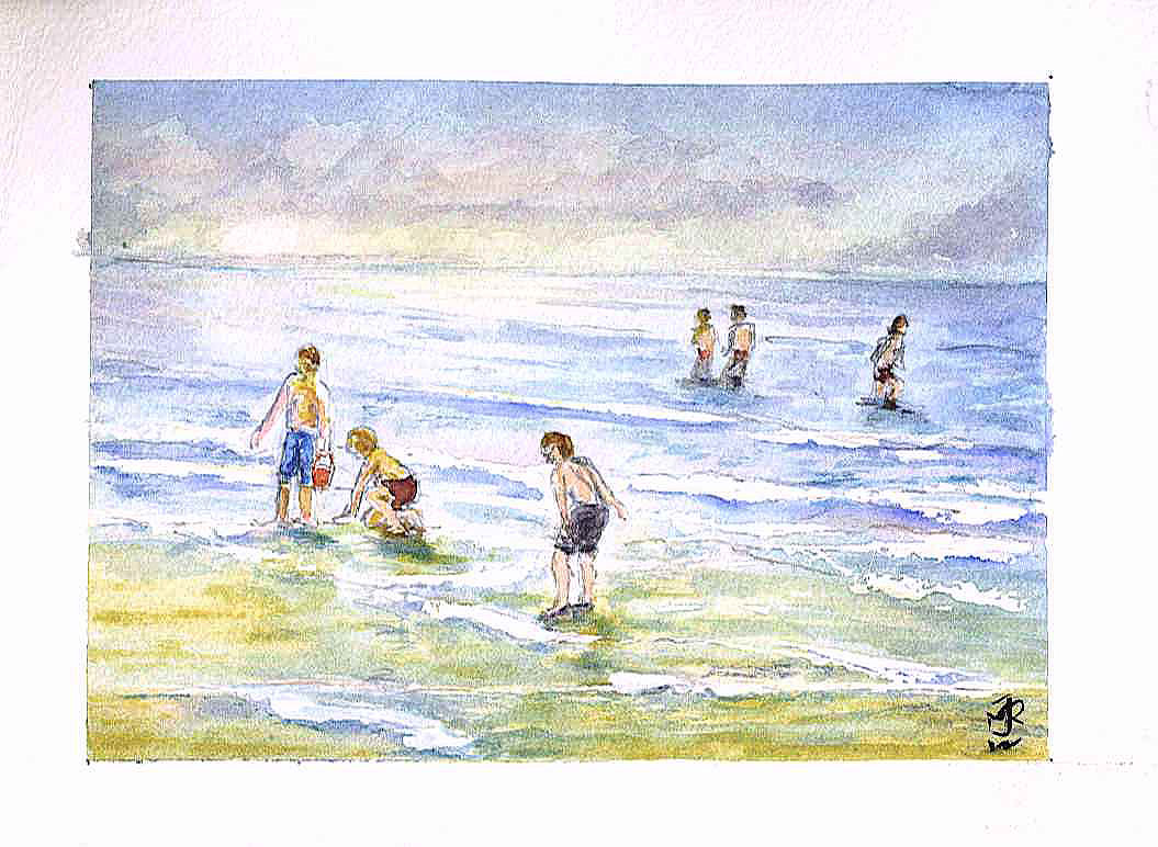 """AT THE SEASIDE"" 2012 (Sketch)"
