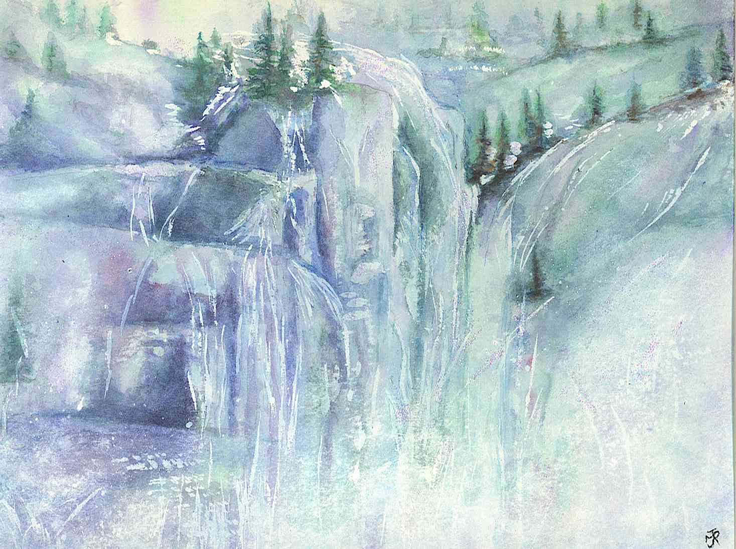 """ICE FALL"" SOLD"
