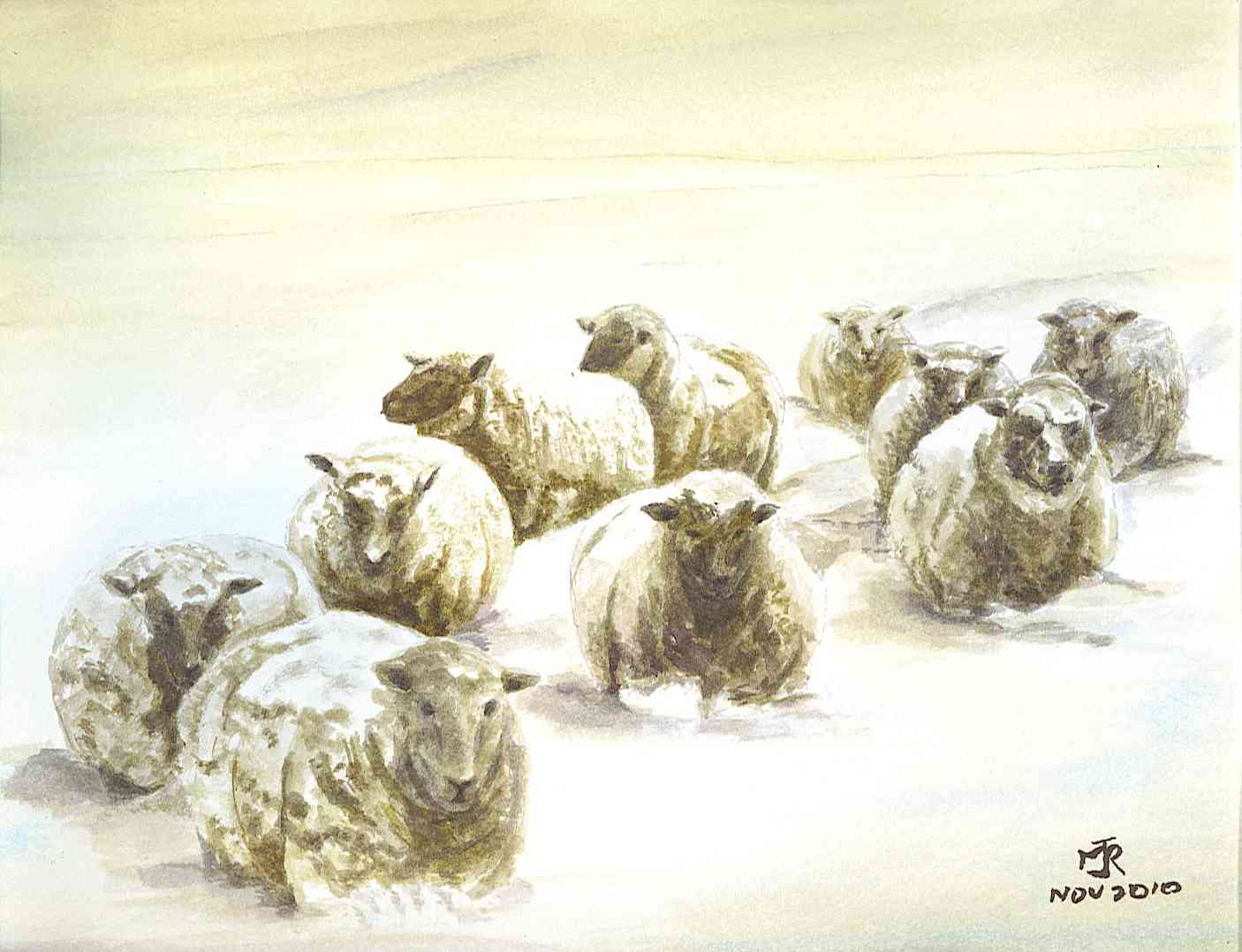 """KILNSIDE SHEEP"" SOLD"