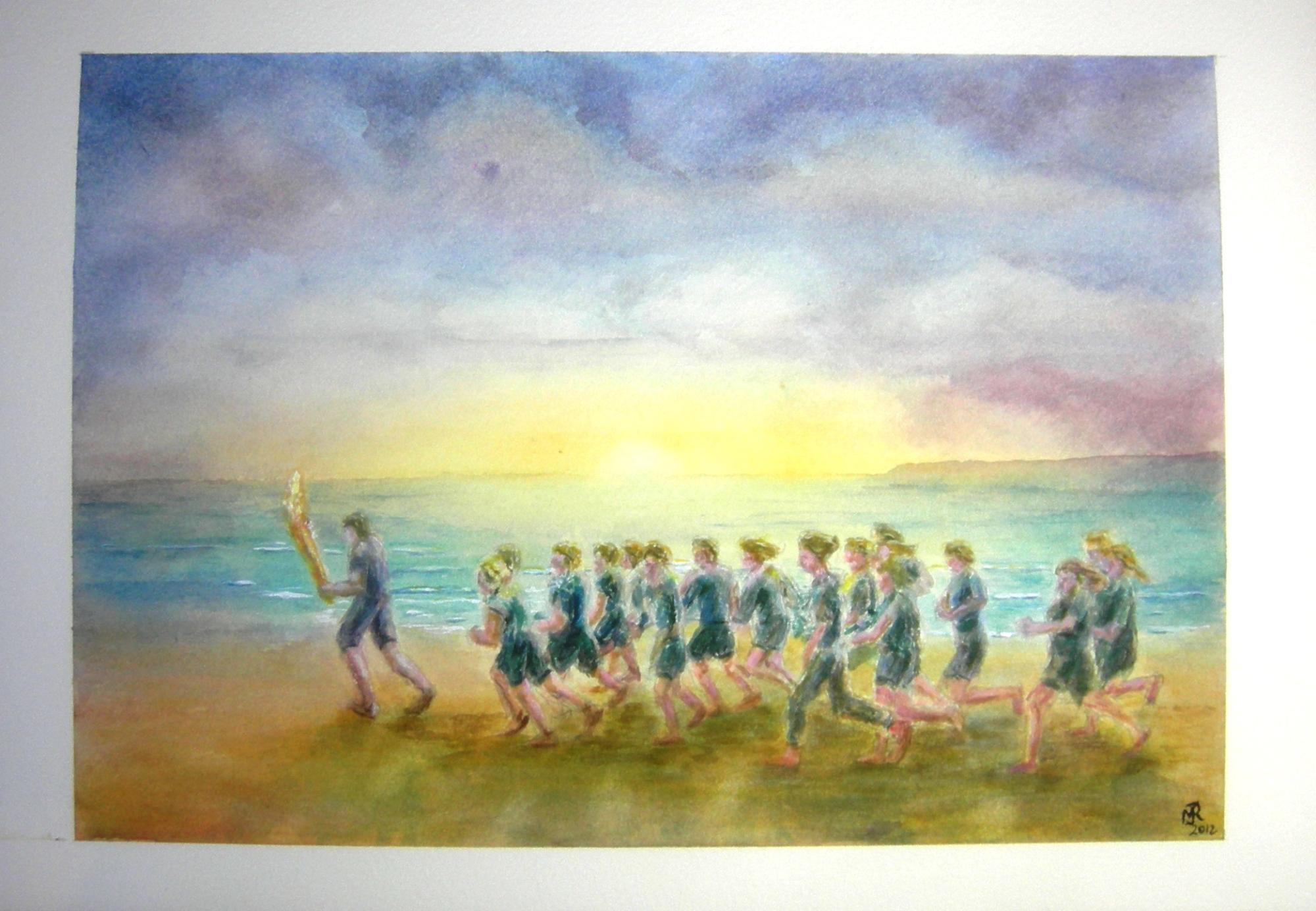 """OLYMPIC TORCH RELAY, MORECOMBE"" SOLD"