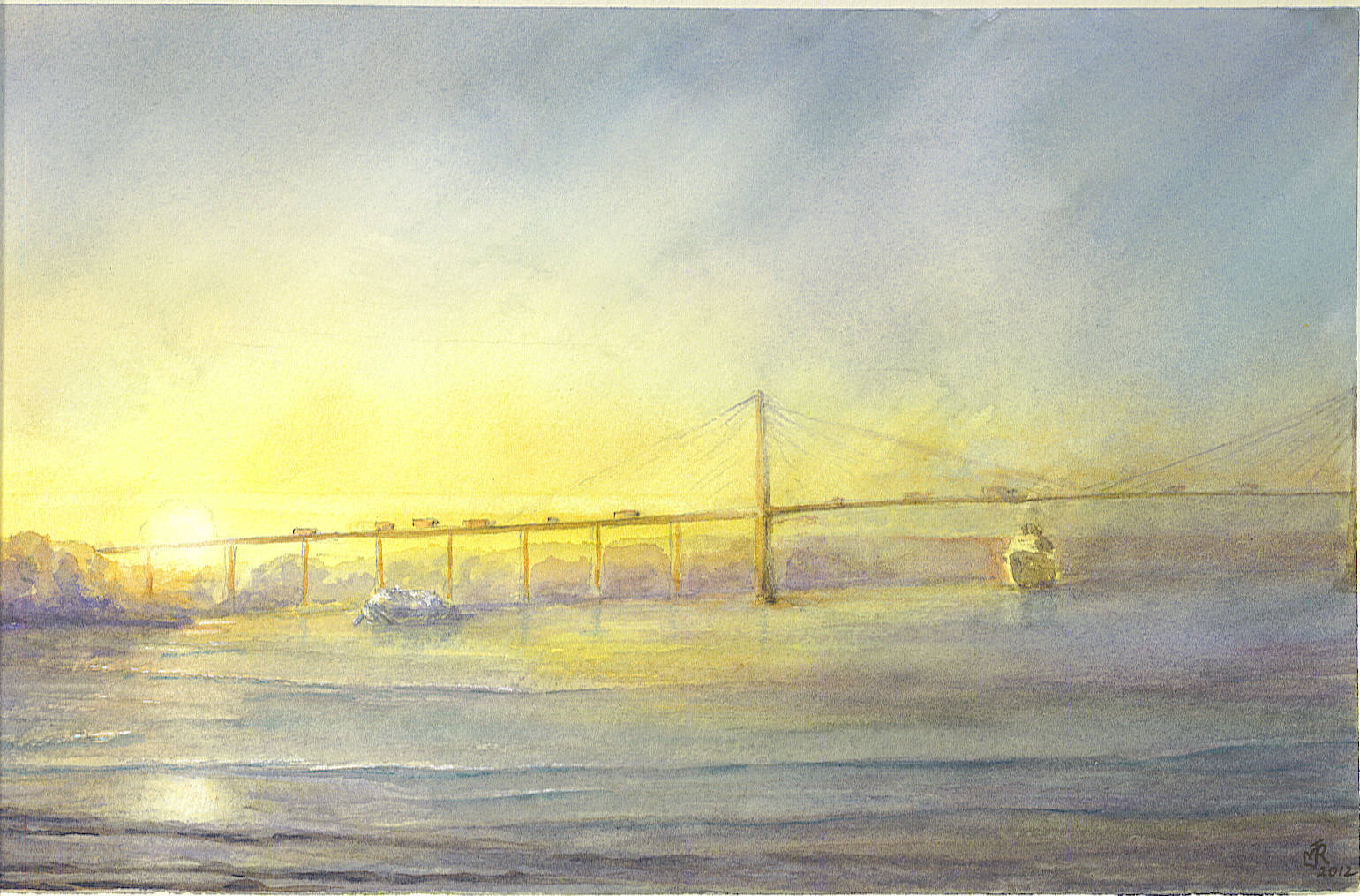 """QEII BRIDGE, DARTFORD"" SOLD"