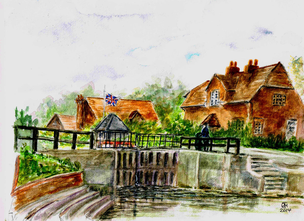"""SONNING LOCK, 2014) £85 (A4/UF)"