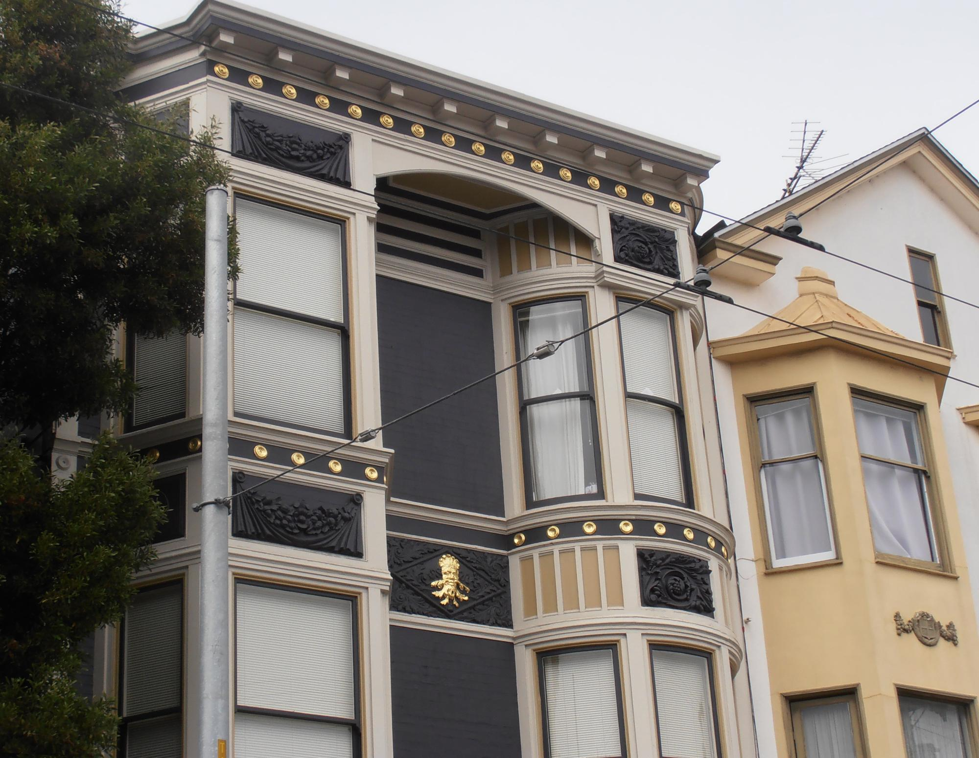 Surface Gilding on Residential Building