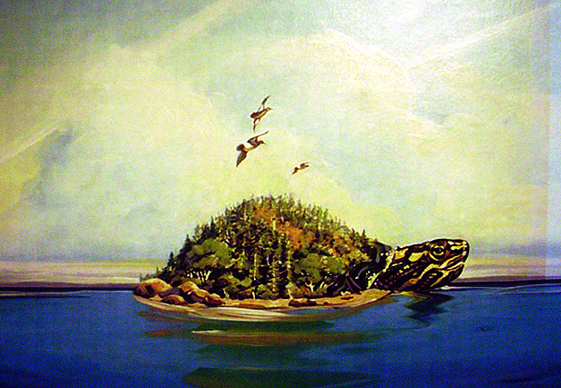 INDEPENDENT BOOKS. THE LEGEND OF THE CREATION OF MAKINAUK ISLAND, LAKE MICHIGAN