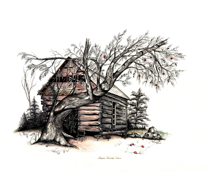 """George Shelor's Cabin"""
