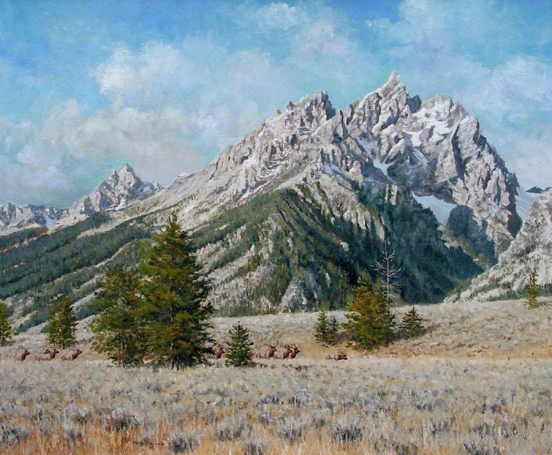 """The Tetons"""