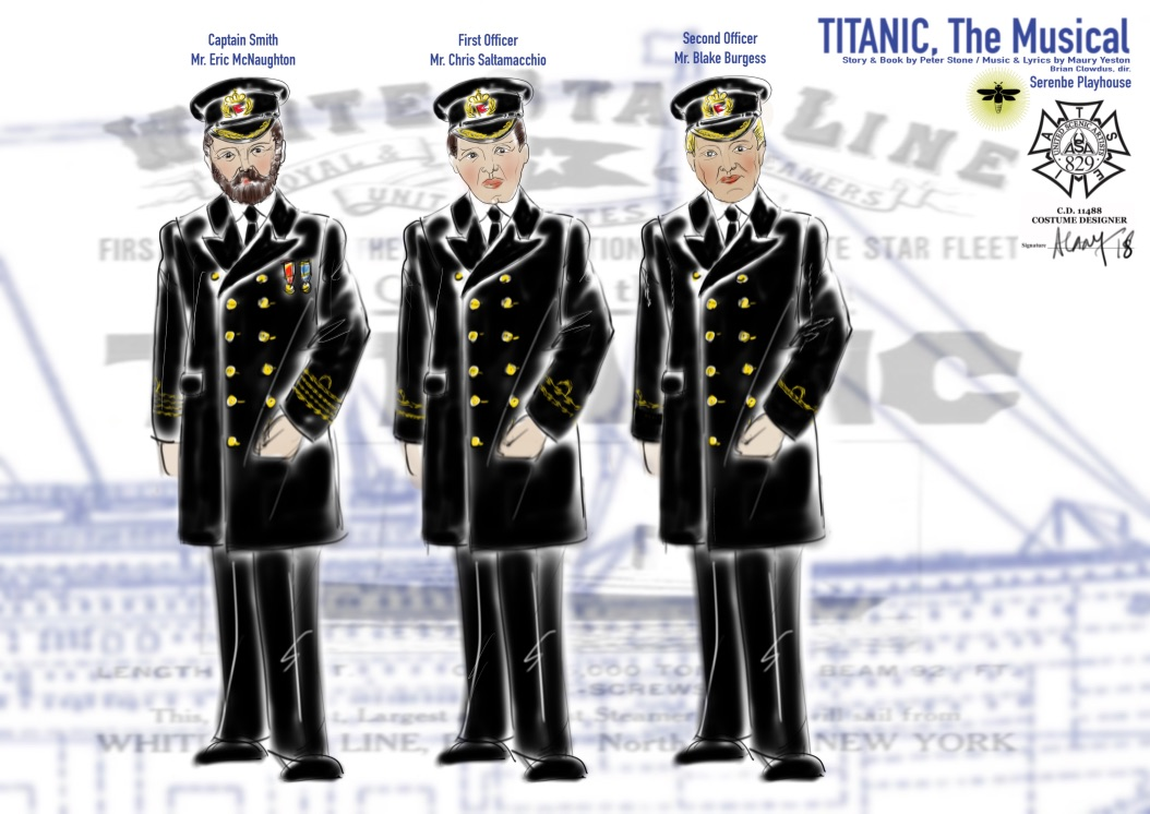 Titanic: The Musical, Serenbe Playhouse, July 2018, Directed by Brian Clowdus