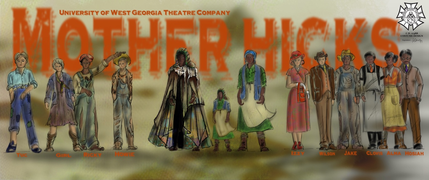 Mother Hicks, University of West Georgia, April 2018, Directed by Jenni McCarthy