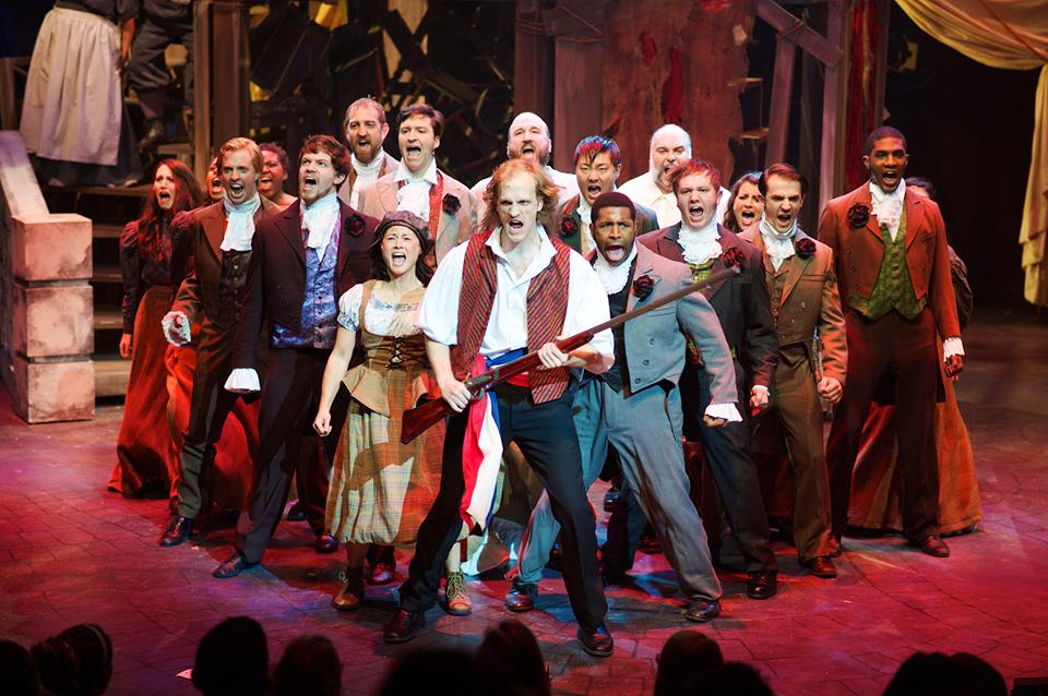 Les Miserables, Aurora Theatre/ Photo by Chris Bartelski