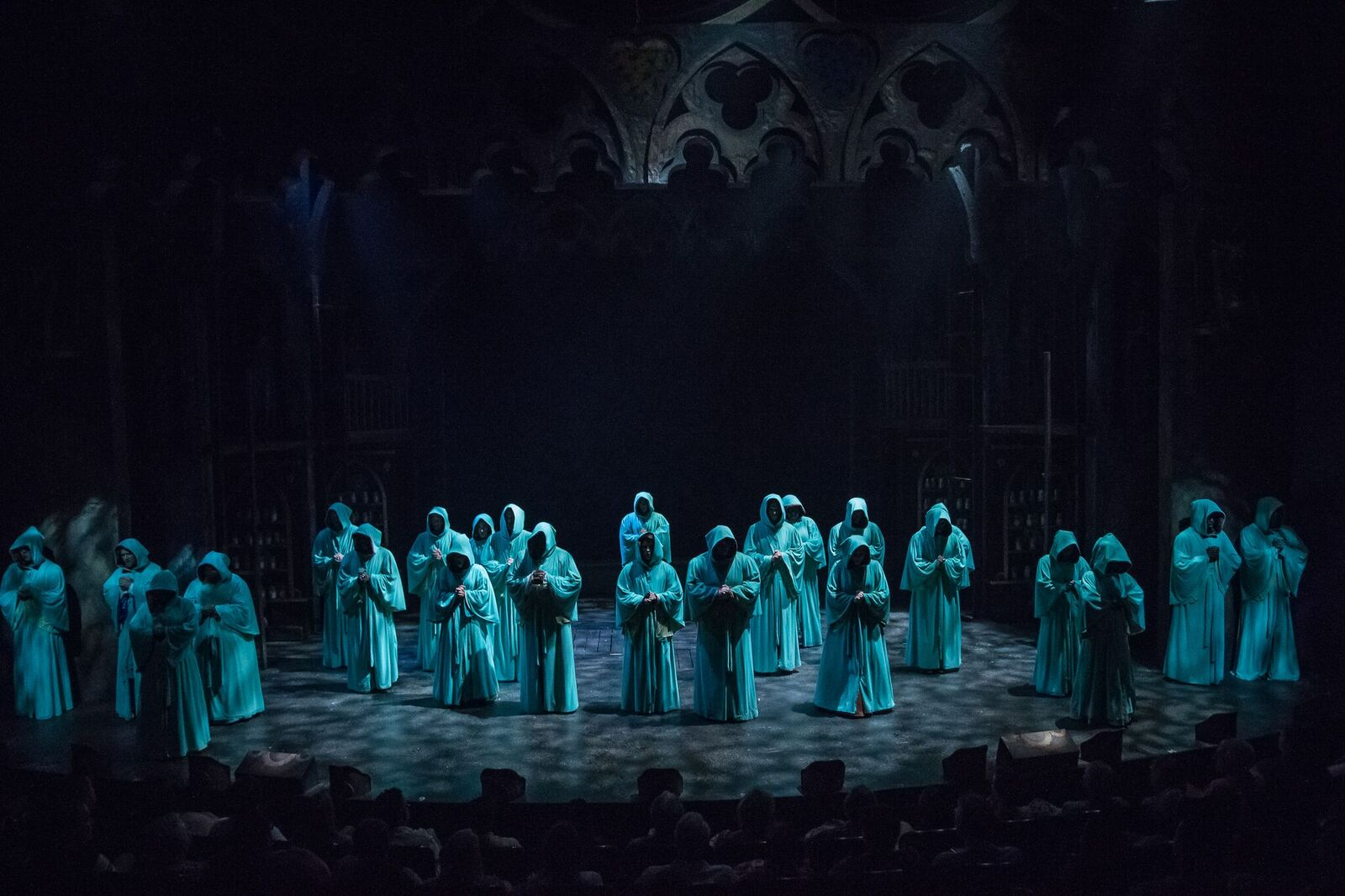 The Hunchback of Notre Dame, Aurora Theatre/Theatrical Outfit, July  2017, Directed by Justin Anderson