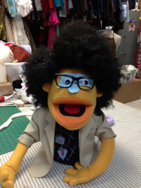 """Moss"" The IT Crowd Puppet"