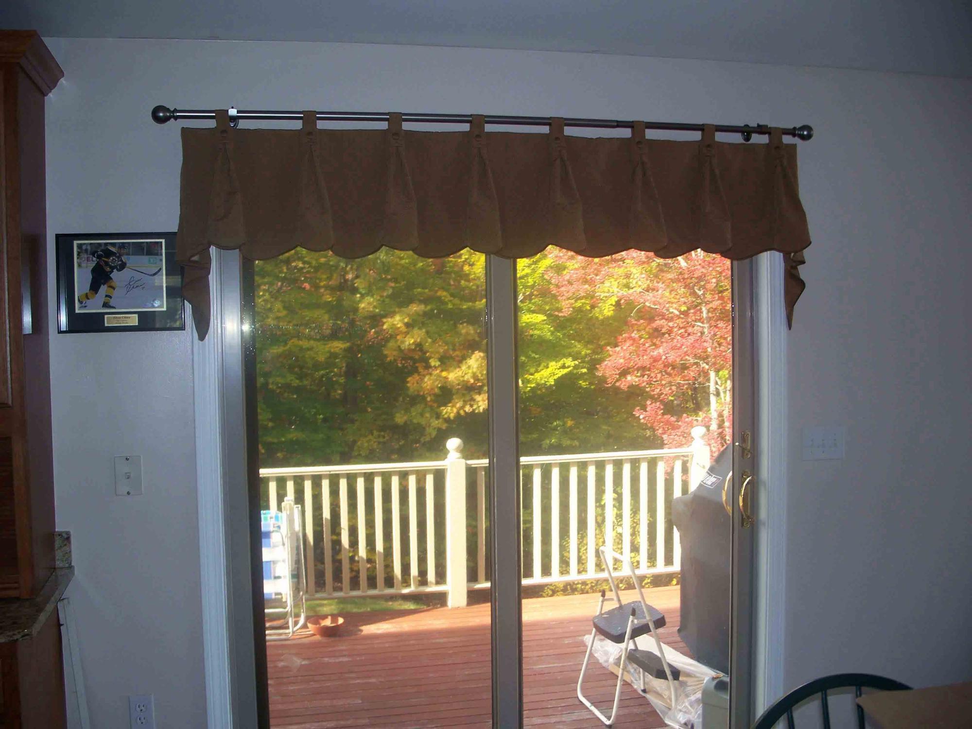 Tab Pleated Valance