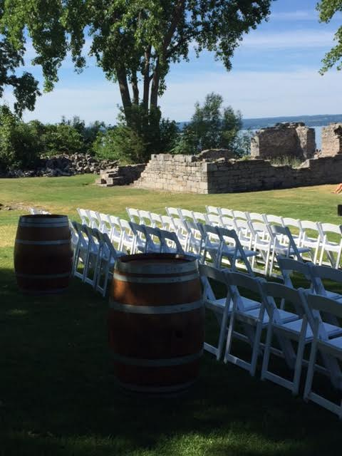 Cayuga Lake wedding