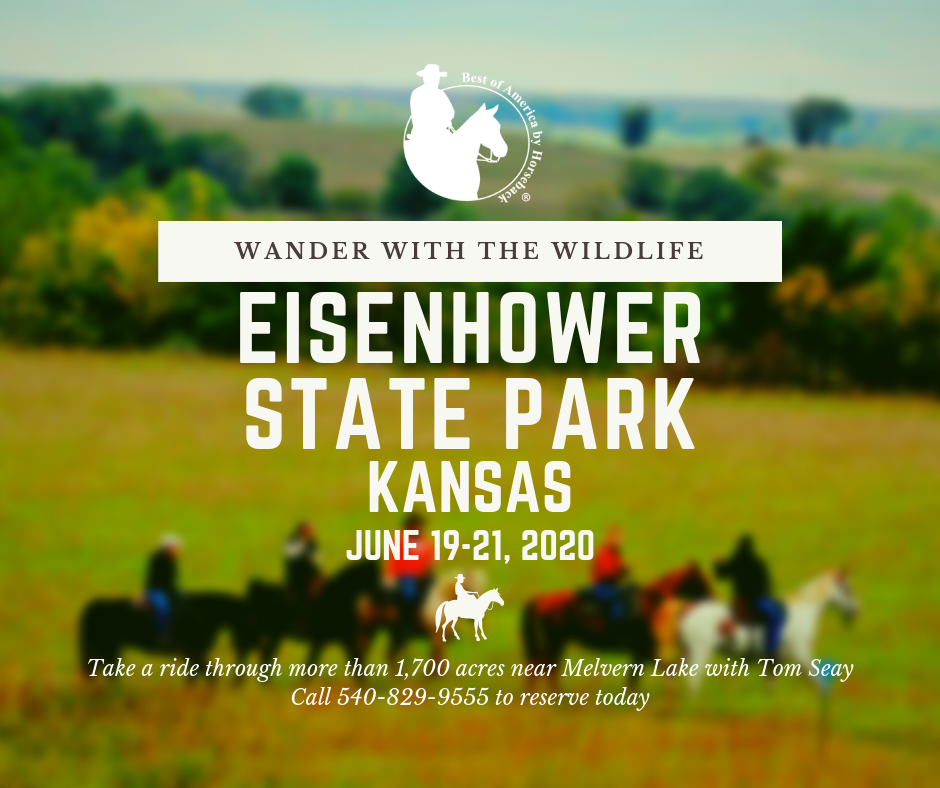 Explore Kansas on horseback with Tom