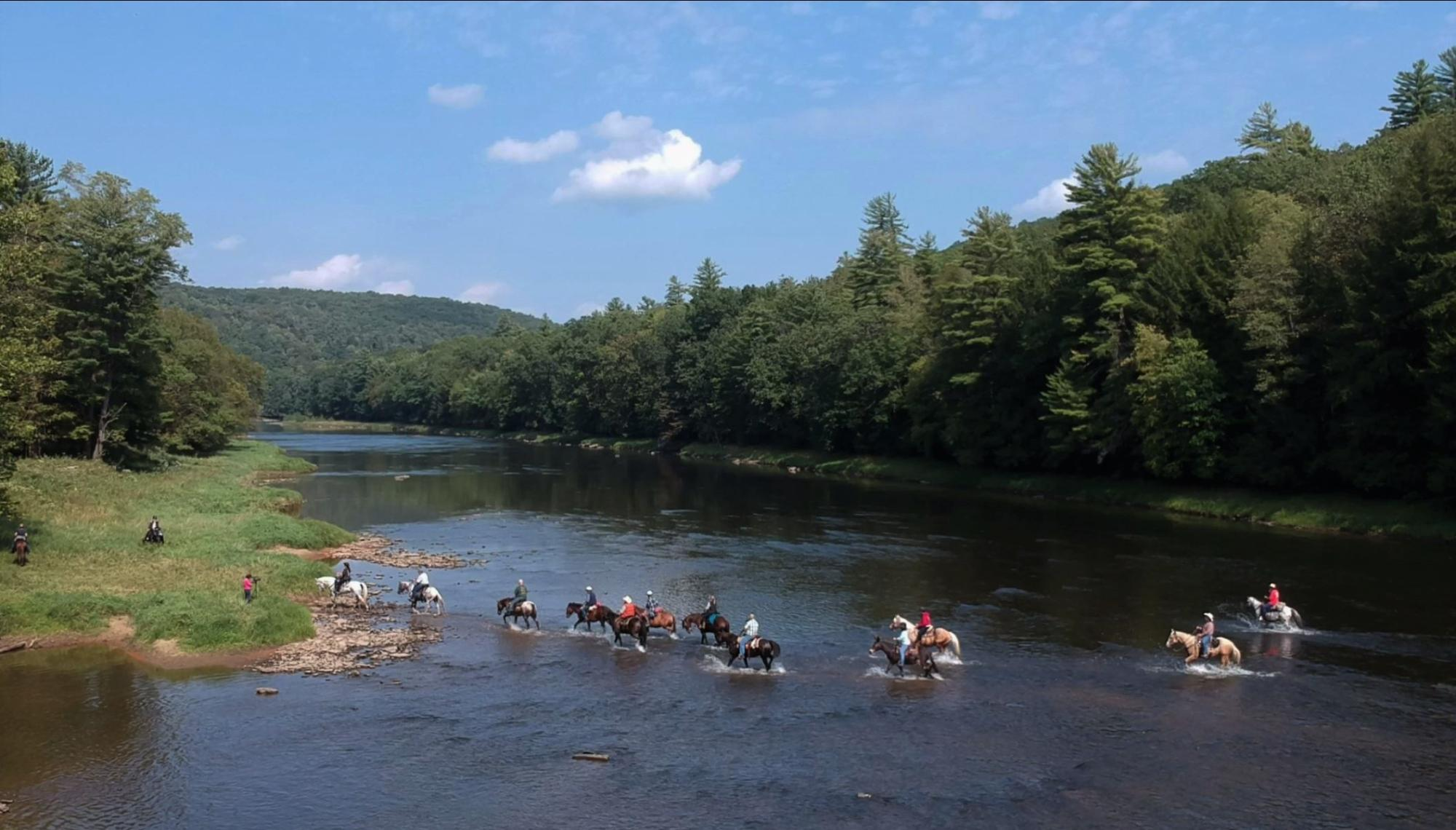 Cook Forest Trail Ride, Dude Ranch, and Campground in PA