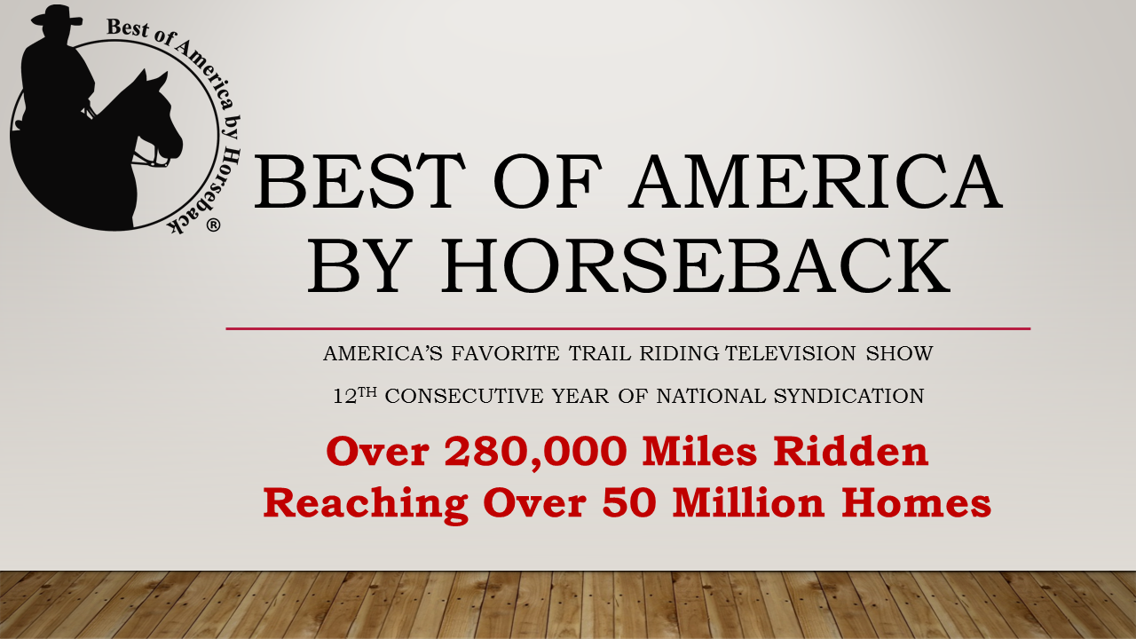 Become part of Best of America by Horseback