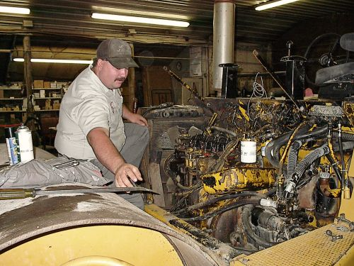 Cary working in our shop