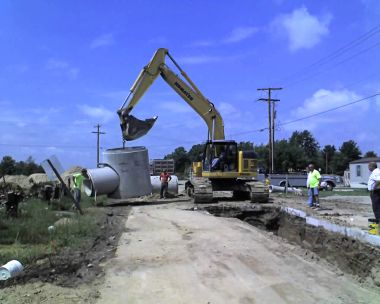 US33 Storm Water Install