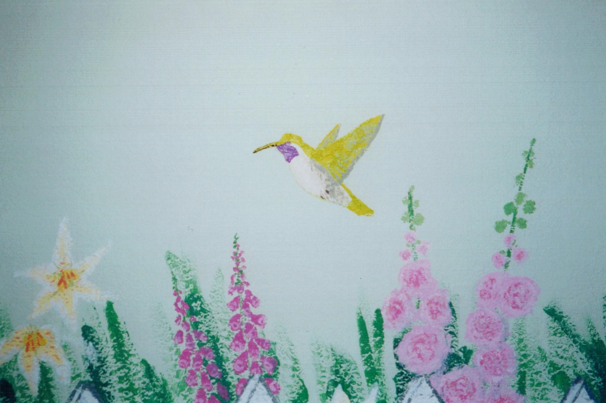 Princess Garden-Hummingbird