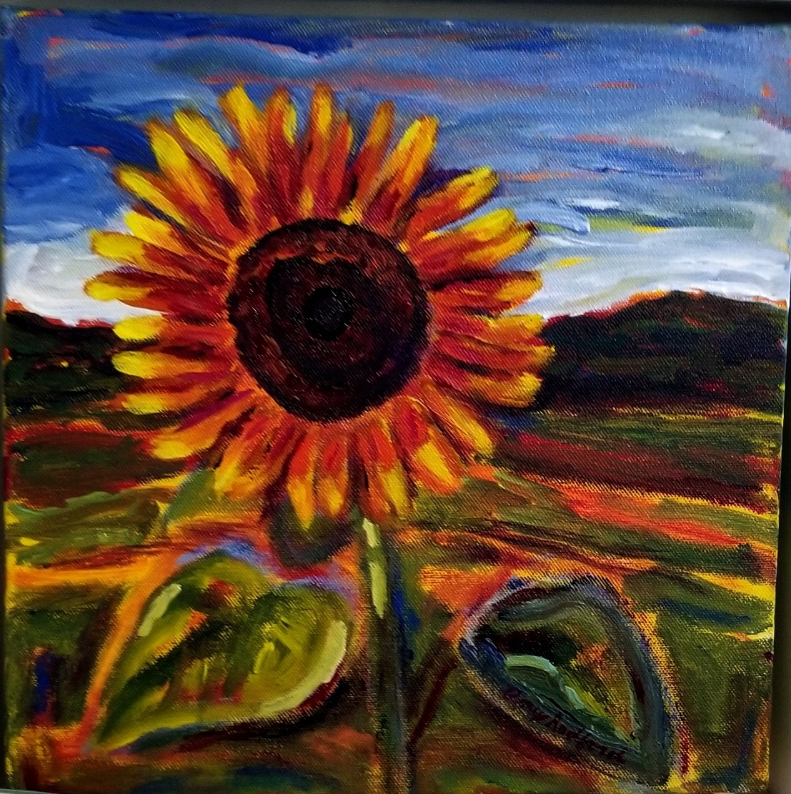Sunflower Solo