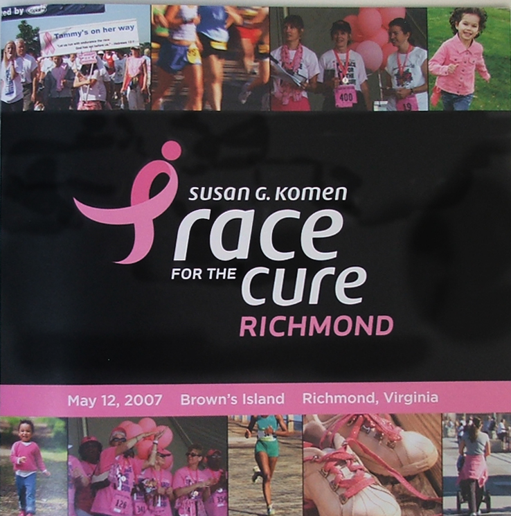 KOMEN Race for the Cure Program Design