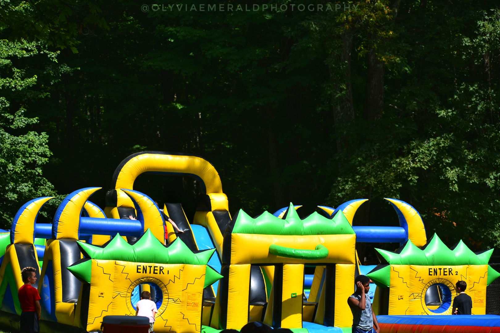 Inflatable Agility Run