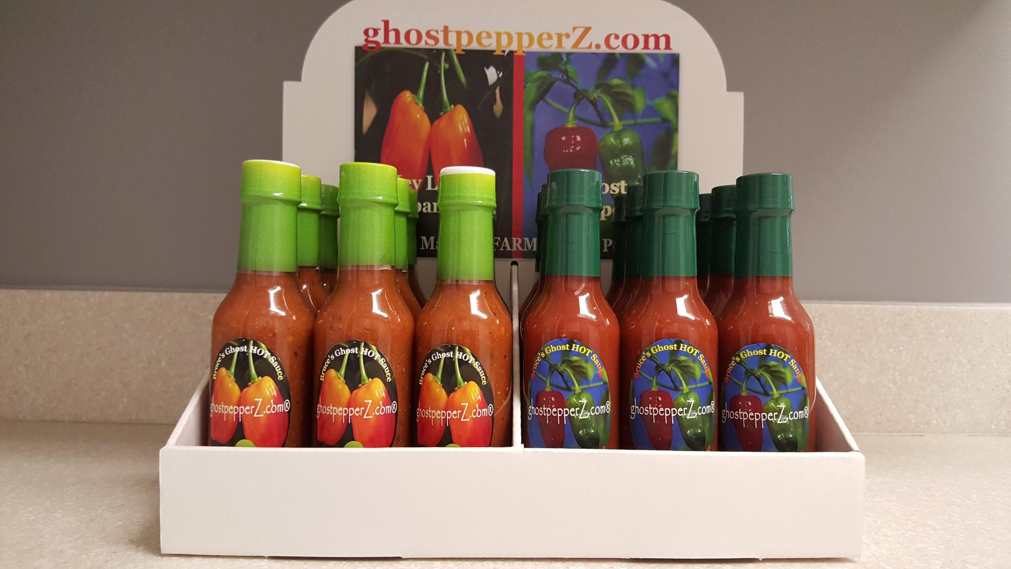 ghost pepper hot sauces