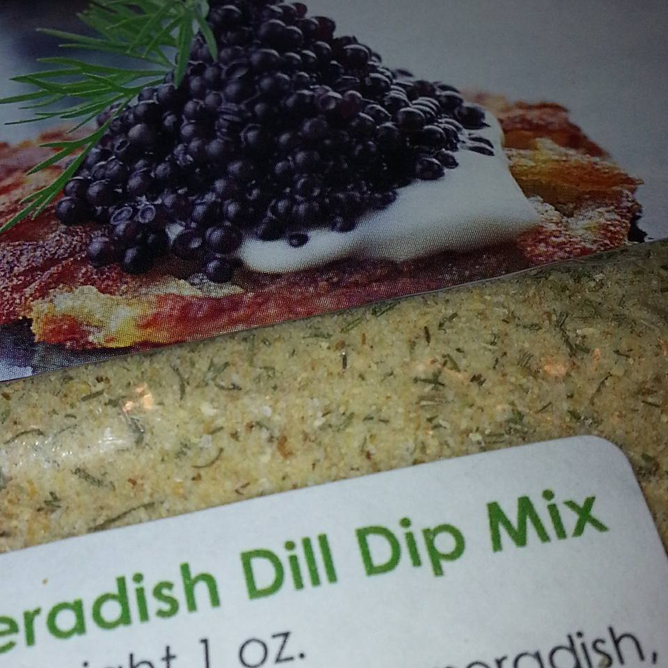 spicy horseradish dill dip mix