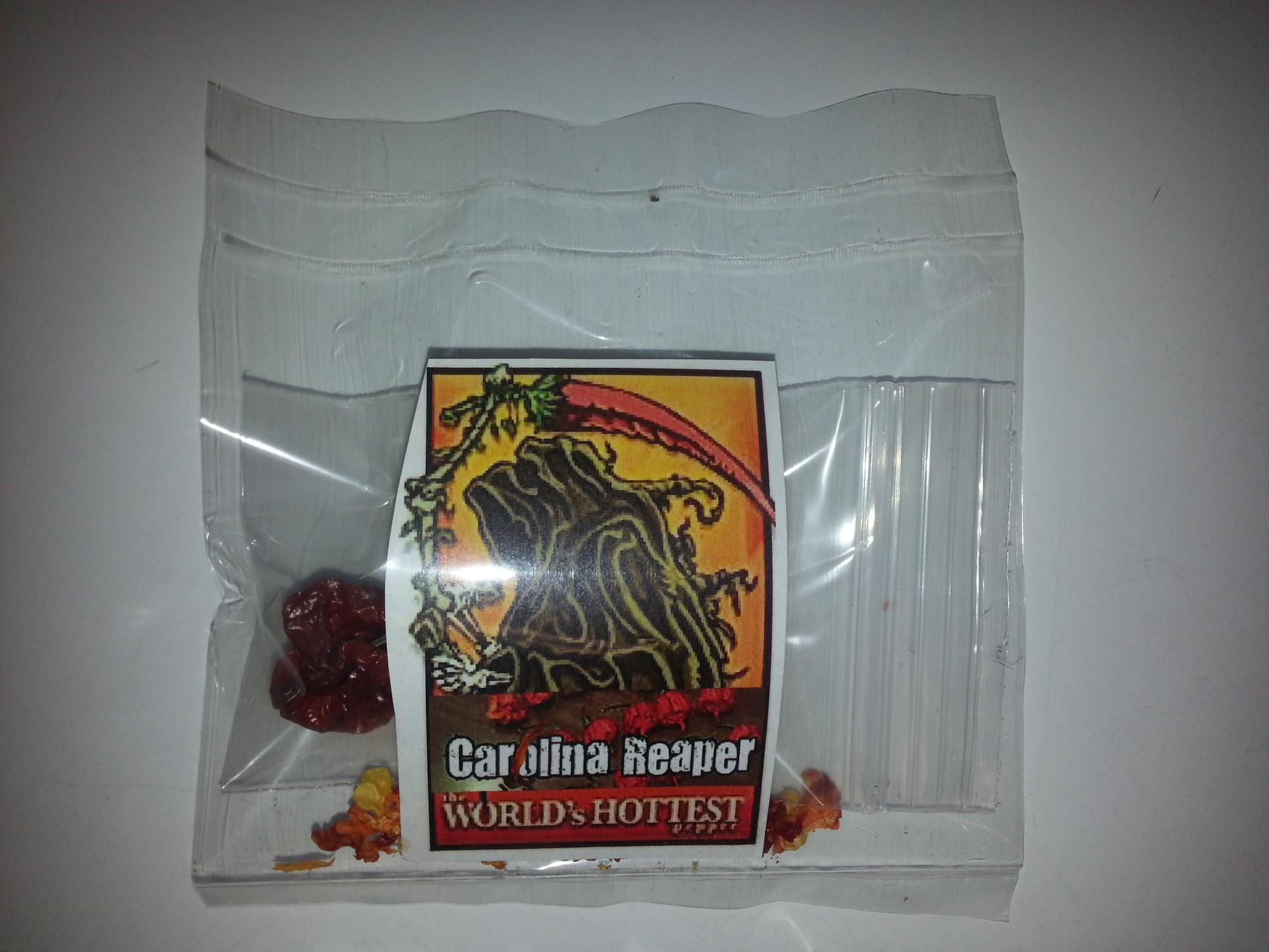 buy Carolina reaper seeds