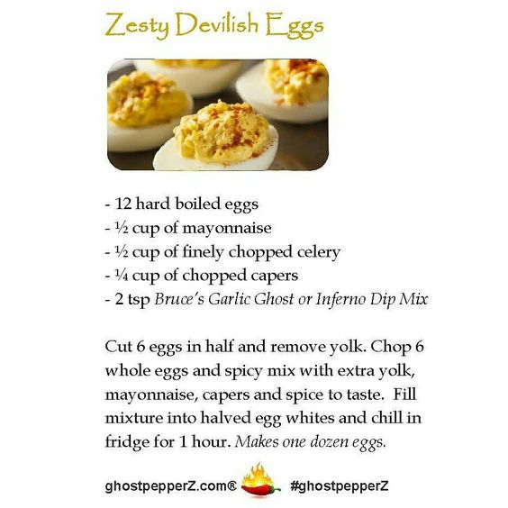devilish eggs recipe