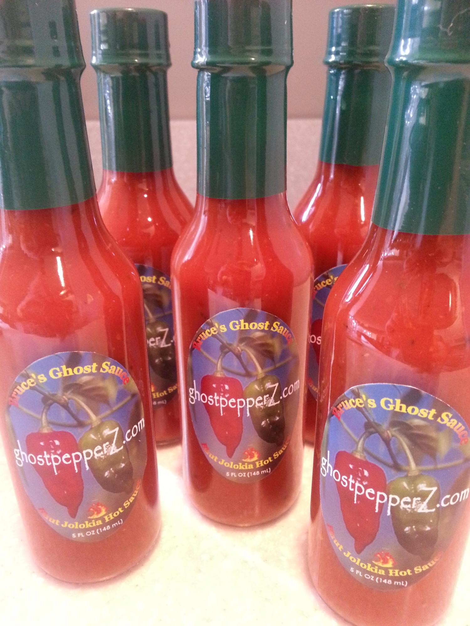 buy ghost pepper hot sauce