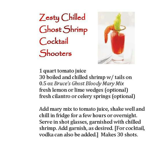 spicy shrimp cocktail shooters recipe