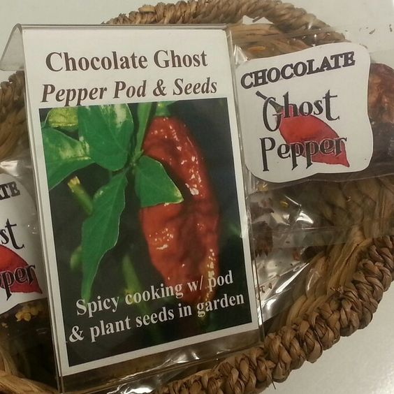 chocolate ghost pepper seeds