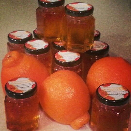 Florida orange pepper jelly