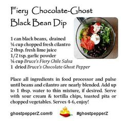 spicy black bean dip recipe