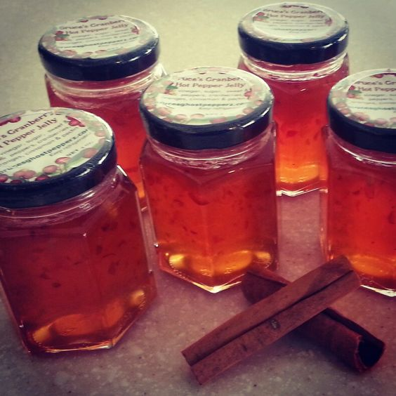cranberry spiced pepper jelly