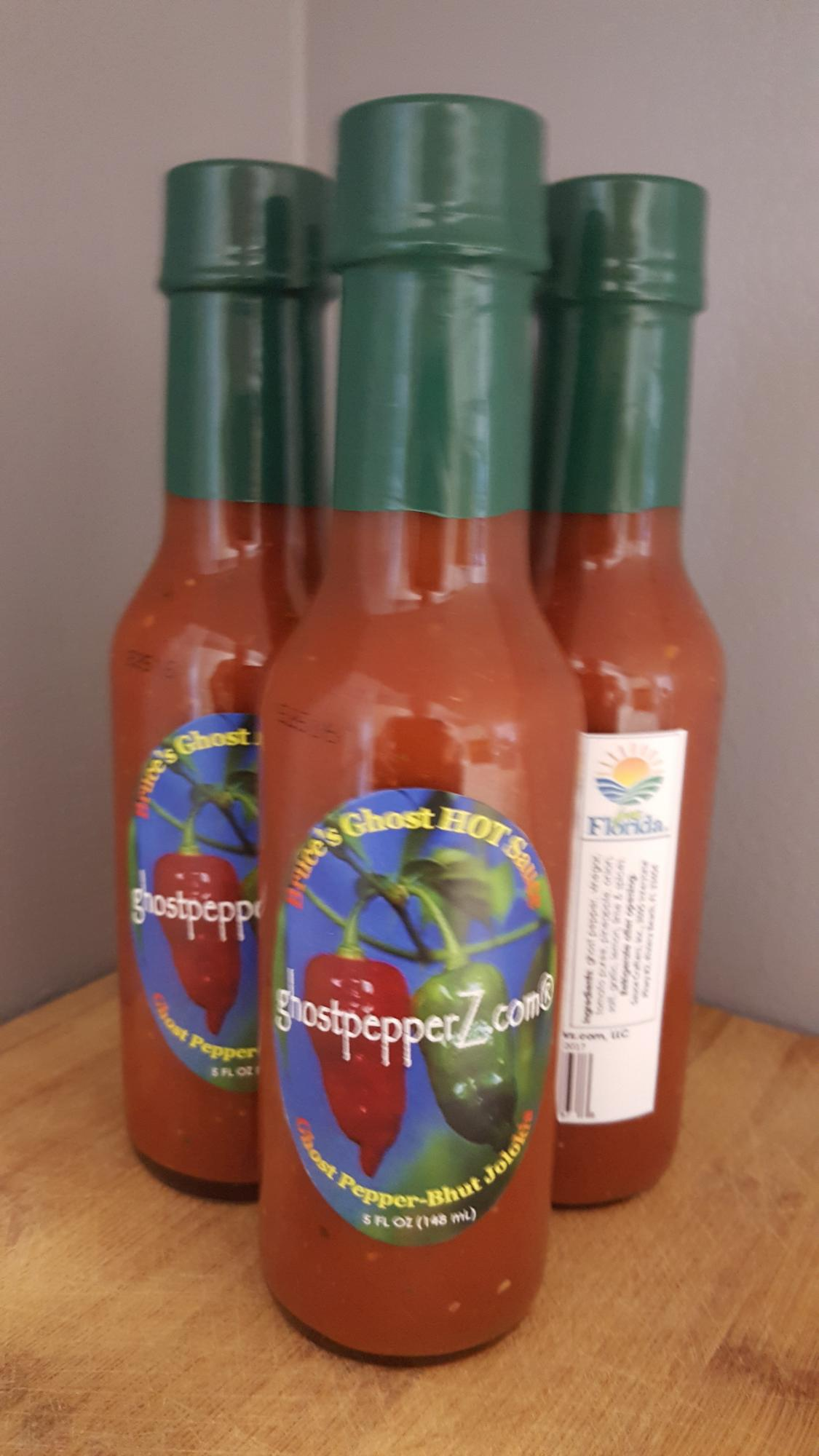 Bruce's Ghost Pepper Sauce