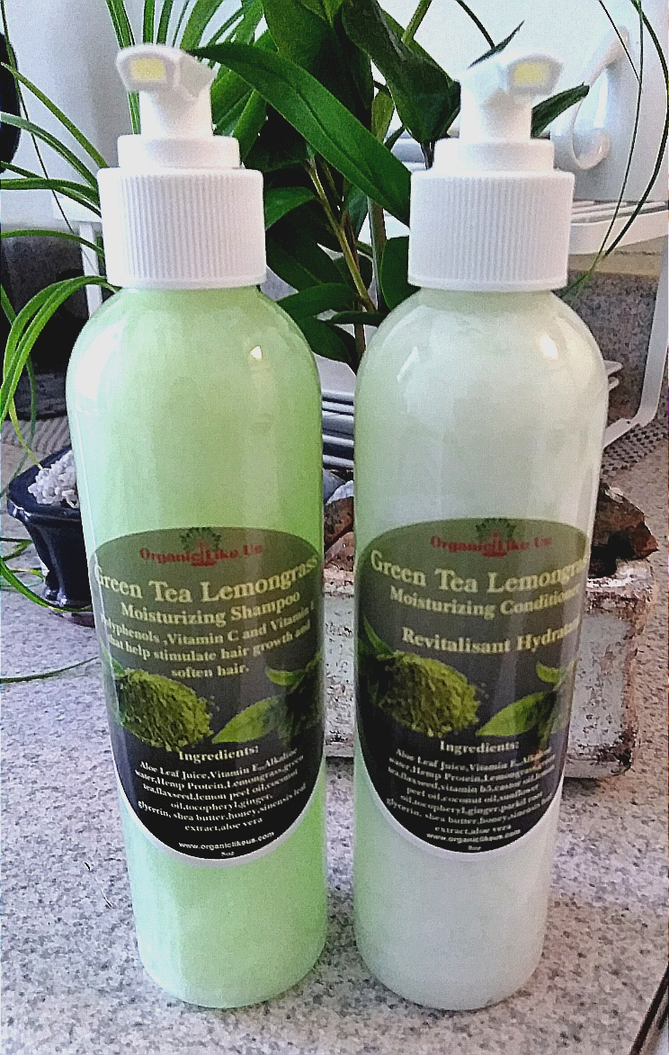 $20.Green Tea Shampoo/Conditioner