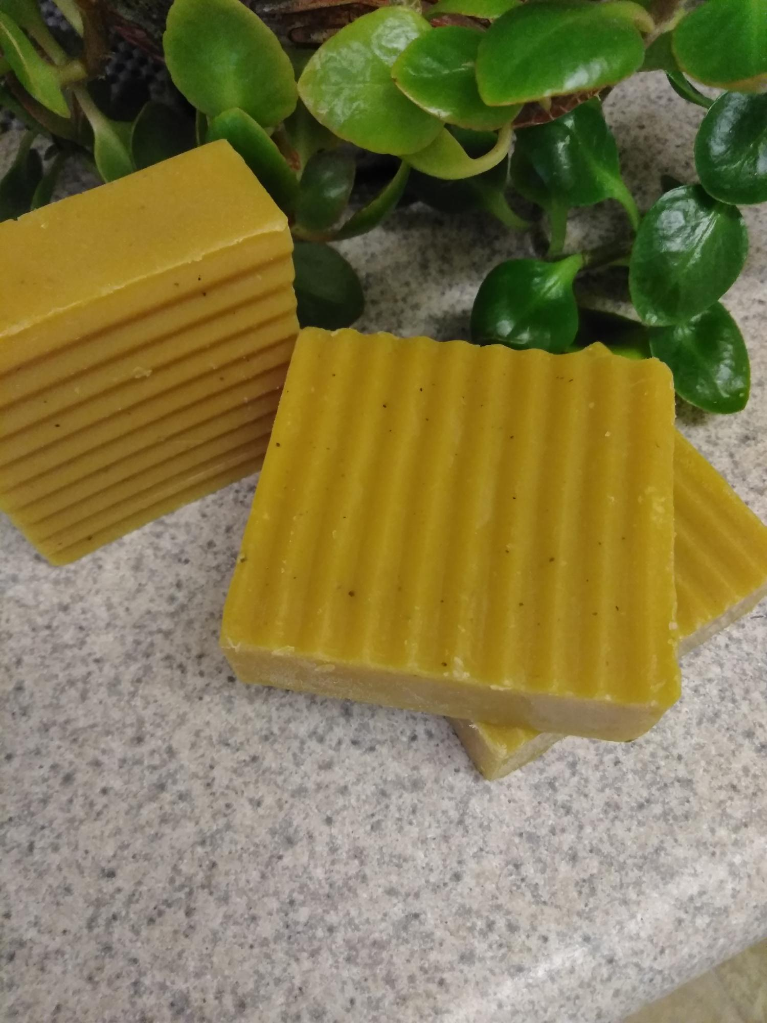 $5. Lemongrass Turmeric Soap