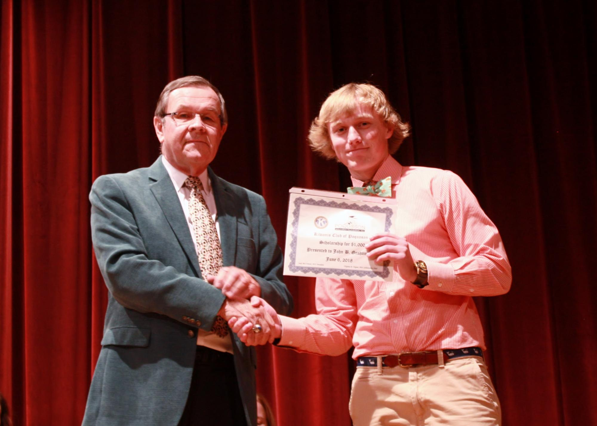 Jack Graham--Kiwanis Club of Poquoson Scholarship