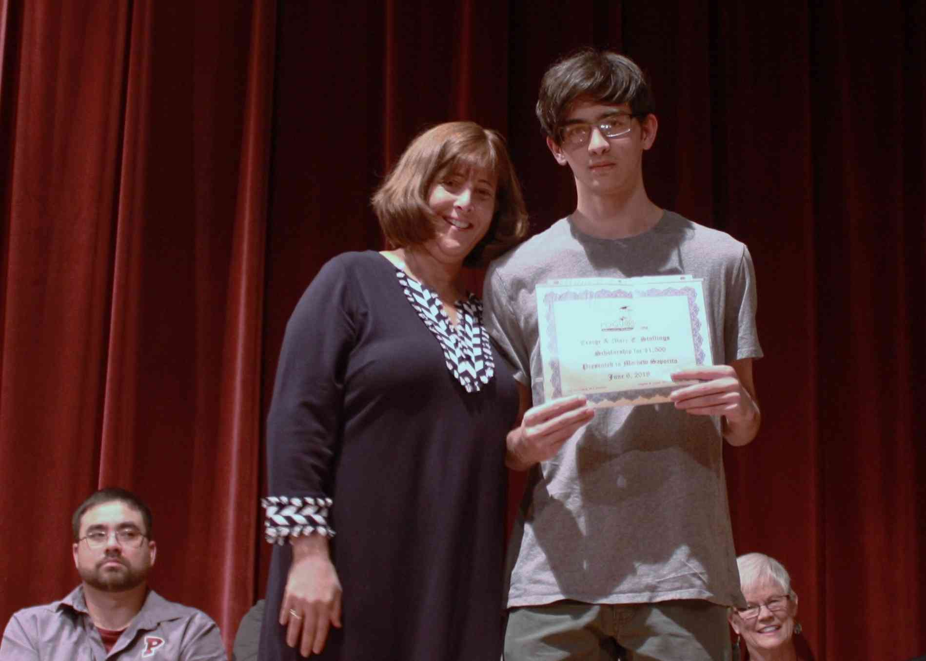 Mathew Sparito--H. Craig and Mary E. Stallings Scholarship