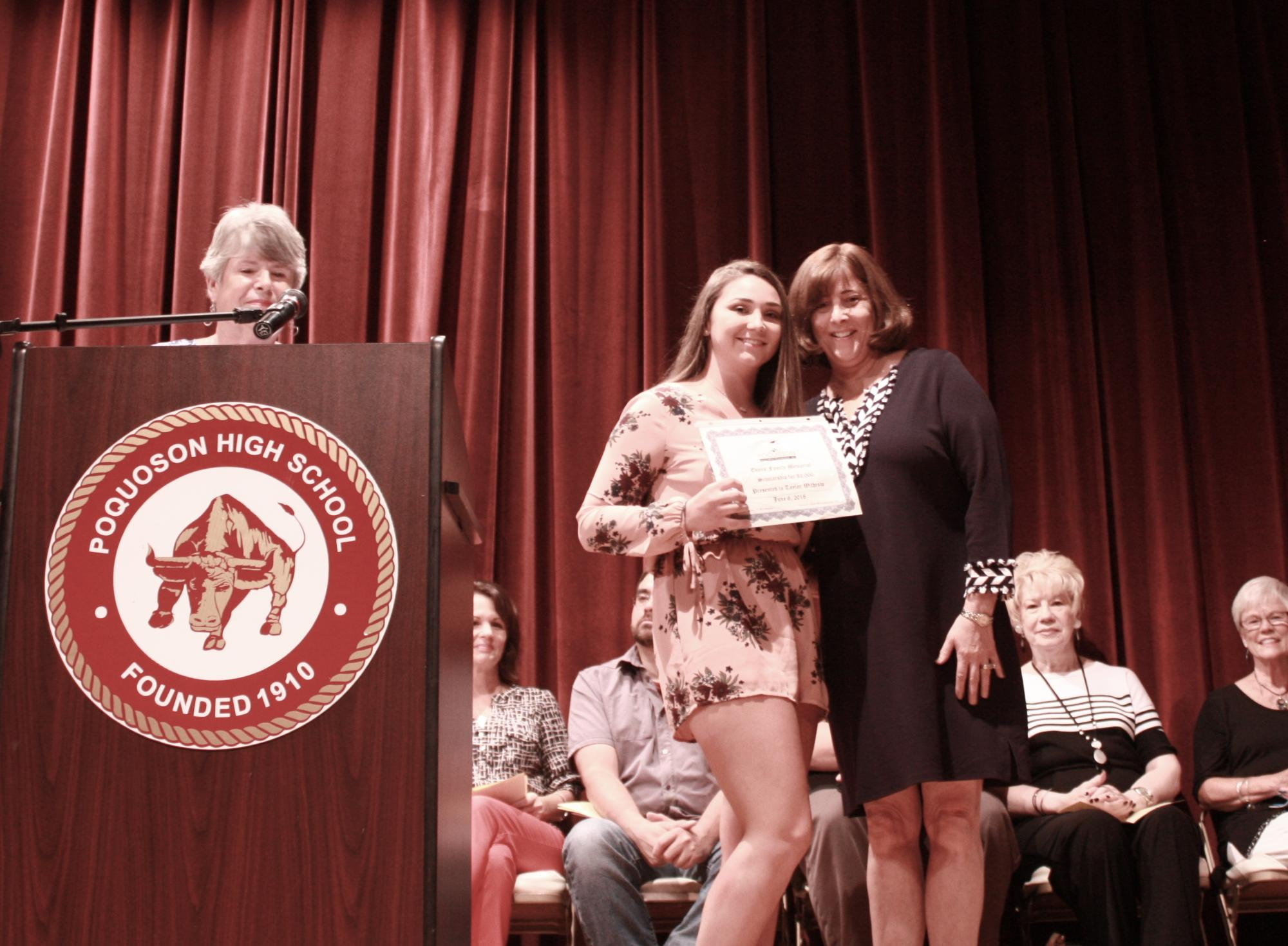 Taylor Withrow--Linda DeBose Memorial Scholarship