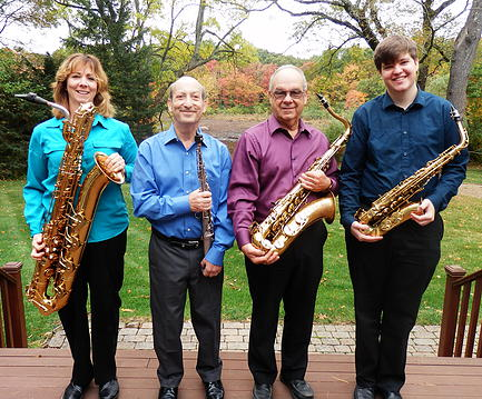 GENERATION SAX QUARTET VISITS