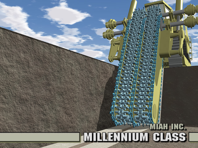 MILLENNIUM CLASS ROCK TRENCHING SYSTEM