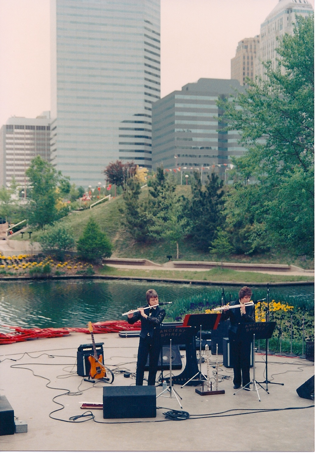1991  Water Stage OKC, Festival of the Arts