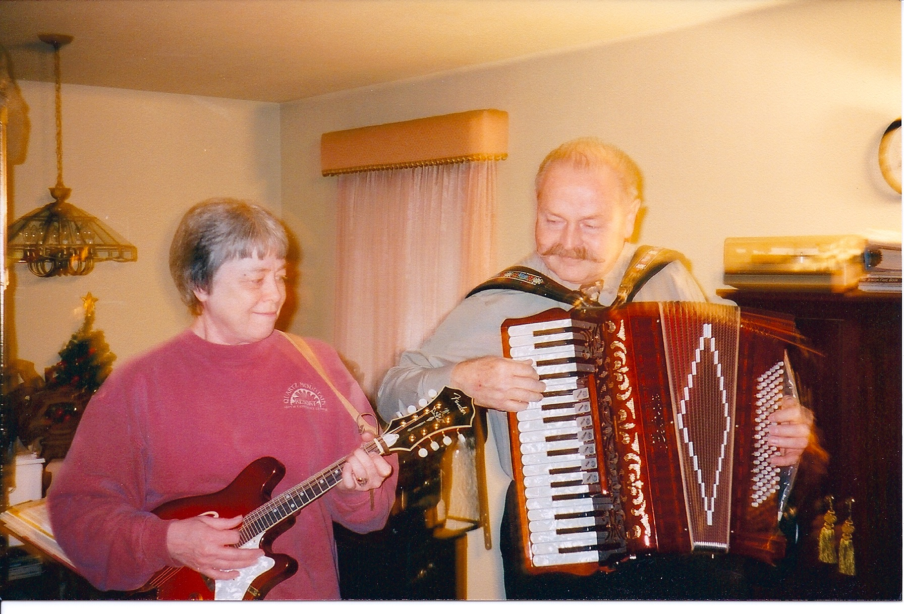 Martha and Nick jamming