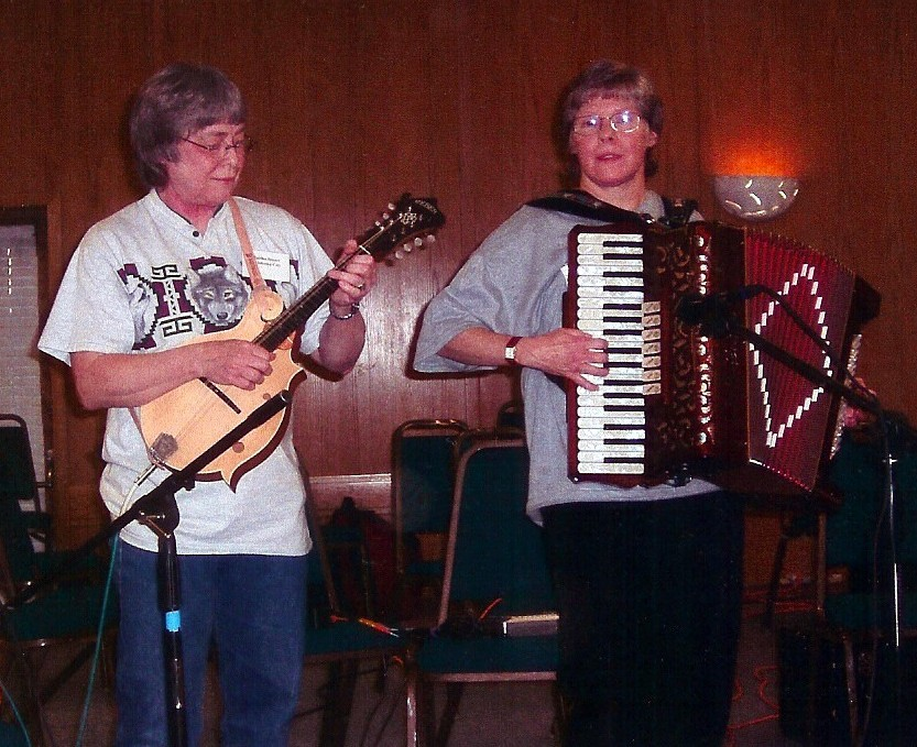 On Stage at the 2003 NAA convention